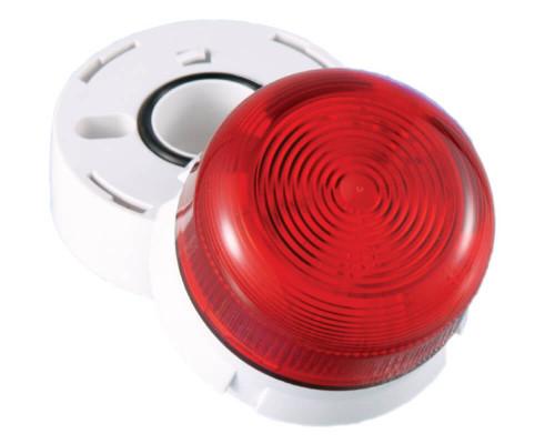 Flashguard Beacons, Xenon Сверхнизкий профиль, Amber Lens, 12-24V DC, 2W QBS-0044