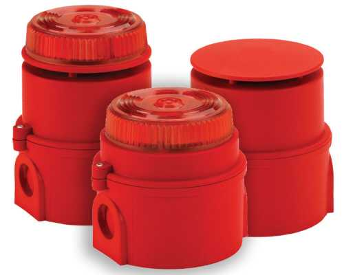 Syrex IS Range, IS-XN Beacon, Red, N/A, N/A, 25mA typical TCA-0026