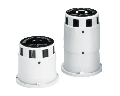 Mini Mono P, Grey, Up to 103dB (A), 1, 110/230V AC, 130/90mA SLE-0004